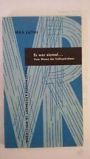 Es War Einmal. Vom Wesen Des Volksmärchens (German) Paperback – 1968 by M Luthi