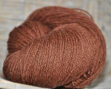 100g Schurwolle Schafwolle Strickgarn 100% Naturwolle Farbe Braun *N38-2* LL250m
