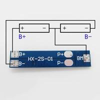 Lithium LiPo Cell Li-ion BMS Battery 18650 Protection PCB Board 2S 7A 7.4V UKGRL