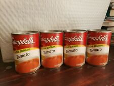 Lot of 24 CAMPBELL'S Condensed Tomato Soup Low-Sodium 10.75 oz each Pull-Top Can