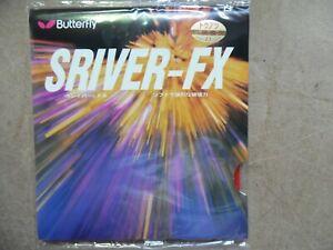 Butterfly Sriver FX 2,1mm, rot Tischtennis Belag, Tischtennisbelag NEU im OVP