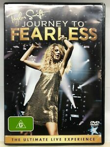 Taylor Swift - Journey to Fearless - DVD - AusPost with Tracking