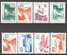 Yugoslavia1959 Sc555-62  Mi891,3-9  8v  mnh  Definitives-Architecture