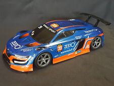 """RC Car carrocería 1:10 """"renault RS 01 GT"""" en azul oscuro 195mm de ancho # jlr44db"""