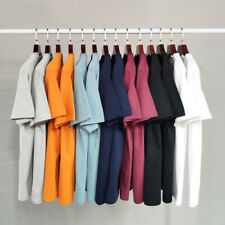Mens Plain Soft Cotton T-Shirts Crew Neck Tee Top | Best selling clearance-ef