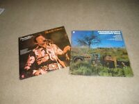 2 FREDDIE HART RECORD LP'S W/SHRINK PEOPLE PUT TO MUSIC & GREATEST HITS NM COVER