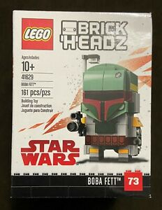 LEGO BrickHeadz Star Wars Boba Fett 41629 Mandalorian Retired Rare NEW