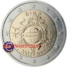 2 Euro Commémorative Irlande 2012 - 10 Ans de l'Euro TYE