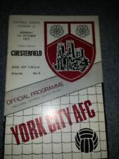 York City v Chesterfield, 1973-74