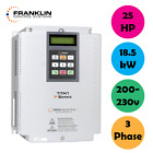 Franklin Controls Variable Frequency Drive VFD 25HP, 3 Phase, 200-230v, 18.5kW