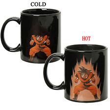 Dragon Ball Z Goku Gokou Taza Heat Reactive Color Change Ceramic Coffee Cup Mug