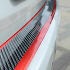 Parts Accessories Car Stickers Red Trim Strip Carbon Fiber Door Sill Decoration