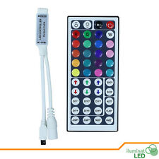 12V 6A mini 44Key IR Remote controller rgb led Controller for SMD 3528 5050 RGB