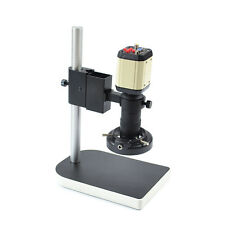 HD INDUSTRY VIDEO MICROSCOPE CAMERA SET KIT C-MOUNT LENS LED LIGHT PCB SOLDERING