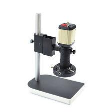 Industry Video Microscope Camera Set Kit C-mount Lens HDLED Light PCB Soldering