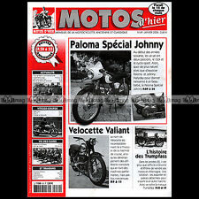 MOTOS D'HIER N°69 PALOMA FLASH JOHNNY HALLYDAY VELOCETTE VALIANT TRUMPFASS
