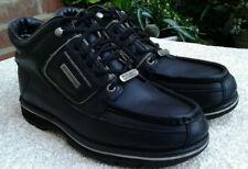 MENS ROCKPORT XCS HYDROSHIELD WALKING BOOTS  BLACK UK SIZE 8 WIDE FIT  GOOD COND