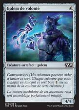MTG Magic M15 FOIL - Will-Forged Golem/Golem de volonté, French/VF