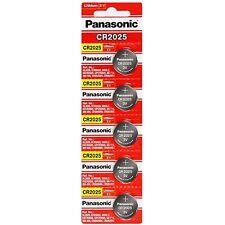 5 x Fresh PANASONIC CR 2025 CR2025 ECR2025 LITHIUM COIN CELL Battery Exp 2027