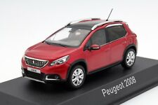 PEUGEOT 2008 MI VIE 2016 ROUGE ULTIMATE NOREV 479846 1/43 RED ROSSO ROT