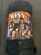 KISS Polar Fleece Throw Rug/ Picnic Blanket