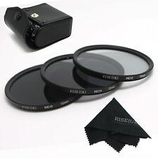 RISE(UK)72MM Neutral Density Filter Lens Set Kit ND2 ND4 ND8 ND 2 4 8+gift