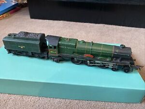 Triang Hornby Princess Elizabeth loco 46201 BR Green livery OO - Non Runner