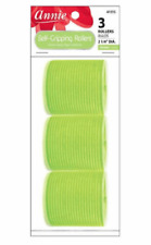Annie Self-Gripping Rollers 2 1/4 Inch 3 Ct Green #1315