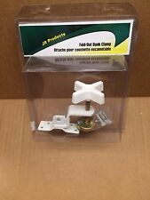 RV/Camper/Trailer -  Fold-Out Bunk Clamp, White