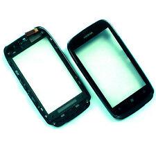 100% ORIGINALE NOKIA LUMIA 610 FASCIA anteriore + digitalizzatore in vetro touch screen Canna di fucile