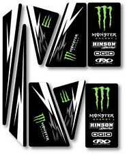 KIT DÉCO UNIVERSEL MONSTER ENERGY QUAD 250 300 400 450 TRX