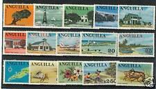 TURISMO - TOURISM ANGUILLA 1967/1968 Common Stamps