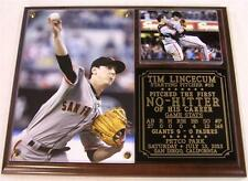 Tim Lincecum #55 1st Career No-Hitter Photo Plaque San Francisco Giants