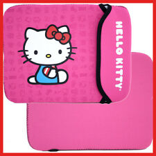 Sanrio Hello Kitty Neoprene Tablet Sleeve Bag Ipad Galaxy Fire Covers Pouch-Pink