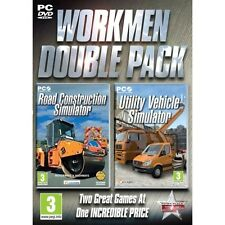 Workman Double Pack (Road Construction & Utility Vehicle) PC Simulator Brand New