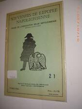 Souvenirs de l'Epopéé Napoléonienne n° 21 rare revue sur belge Napoléon & Empire