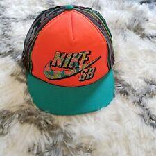 Nike SB Bright Multicolor Youth Trucker Hat Adjustable Strap