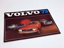 1973 Volvo 142 144 145 164E 1800ES Brochure