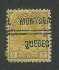 """CANADA PRECANCEL """"MONTREAL"""" 4-113"""