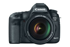 New Imported Canon5D Mark III 22.3MP Digital SLR Camera with 24-105mm Lens Black