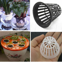 10Pcs Heavy Duty Mesh Pot Net Cup Basket Hydroponic Aeroponic Planting Grow