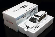 Diecast Car Model Toyota Land Cruiser Prado Without Decal 1:18 (White) + GIFT!!