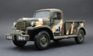 NewRay 1946 Dodge Power Wagon Military Vehicle  Diecast Car Model Toy 1:32