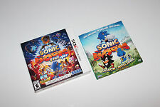 Sonic Boom: Fire & Ice - Launch Edition COLLECTOR BOX ONLY+DVD (Nintendo 3DS)