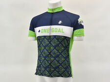 Hincapie Men's 2XL One Goal Survivor Short Sleeve Cycling Jersey Blu/Gr
