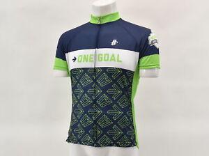 Hincapie Men's 2XL One Goal Survivor Short Sleeve Cycling Jersey Blu/Gr
