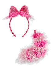 Disney Alice In Wonderland Cheshire Cat Adult & Kids Costume Headband Ears Tail