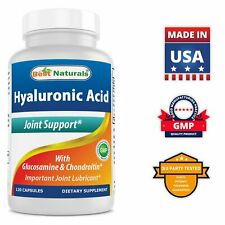 Best Naturals Hyaluronic acid 100 mg 120 Capsules - Youthful Skin & Joint Health