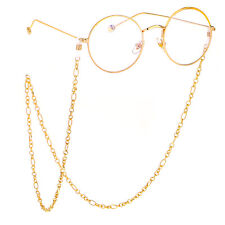 Gold handmade Glasses Chain Strap Spectacle Eyeglasses Sunglasses Cord Holder