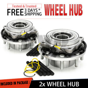 2x Front Wheel Hub Bearing For 2005-2010 Ford F250 F350 Super DUTY SD [4WD] Pair